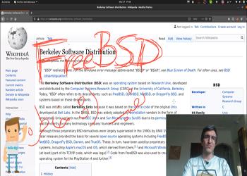 گپی در مورد بی اس دی ها و نصب همزمان فری بی اس دی freeBSD