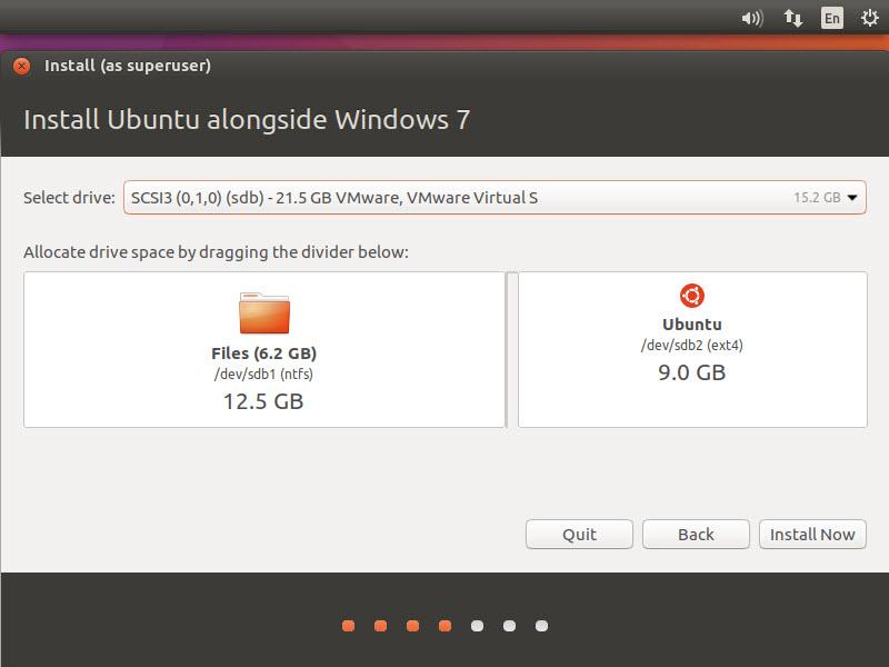 آموزش نصب Ubuntu کنار ویندوز