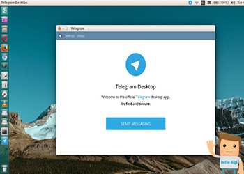 اموزش نصب تلگرام در اوبونتو