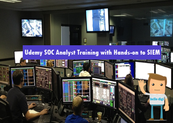 دانلود دوه Udemy SOC Analyst Training with Hands-on to SIEM